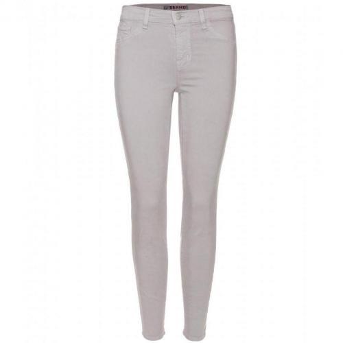 J Brand Capri Cropped Skinny Jeans Smokey Quartz