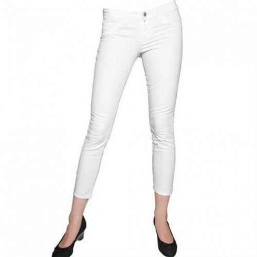 J Brand - Japanese Stretch Twill Capri Jeans