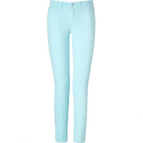 J Brand Jeans Aqua JB Mid-Rise Skinny Pants