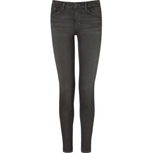 J Brand Jeans Grey 11-Inch Leg Opening Skinny Dare Jeans