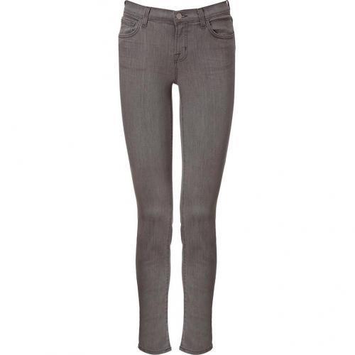 J Brand Jeans Grey Mid Rise Skinny Leg Jeans