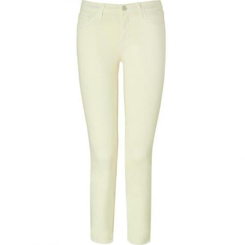 J Brand Jeans Lemon Mid-Rise Capri Pants