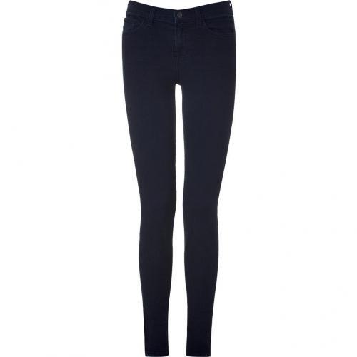 J Brand Jeans Noirblue Mid Rise Skinny Leg Jeans