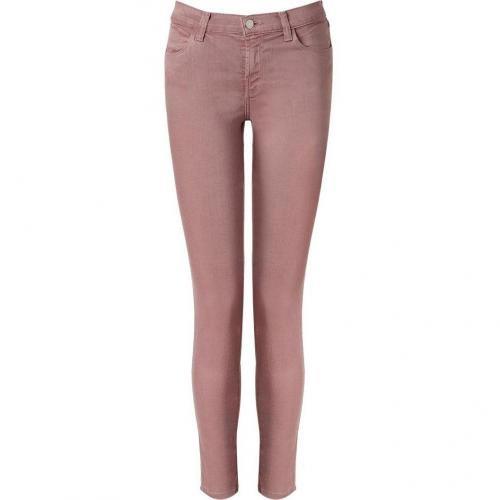 J Brand Jeans Rose Mid Rise Skinny Slipper Jeans