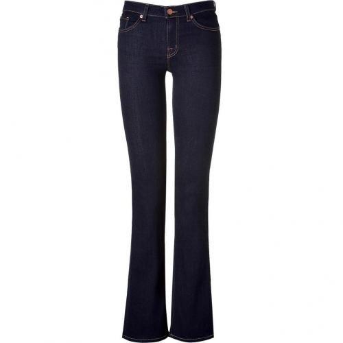 J Brand Jeans Starless Midrise Slimboot Leg Jeans