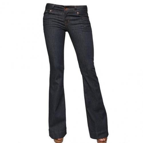 J Brand - Love Story Denim Stretch Flared Jeans