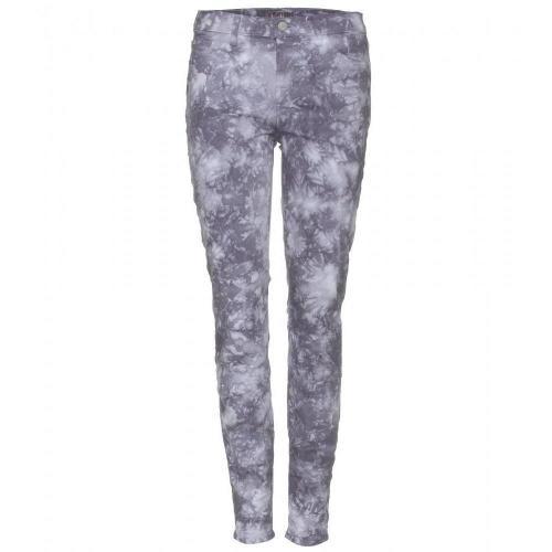 J Brand Mid Rise Skinny Jeans Mit Print