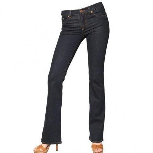 J Brand - Mid Rise Slim Boot Cut Stretch Jeans