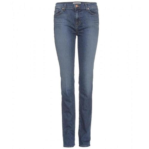 J Brand Mid Rise Straight New Jeans