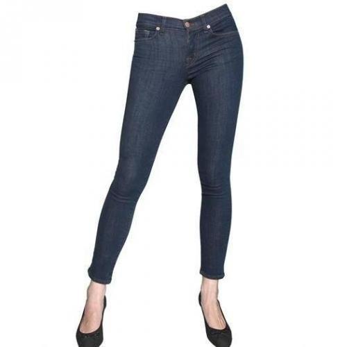 J Brand - Mid Rise Stretch Denim Skinny Jeans