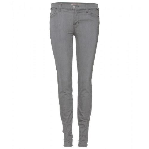 J Brand Mid Rise Super Skinny Stretch Jeans