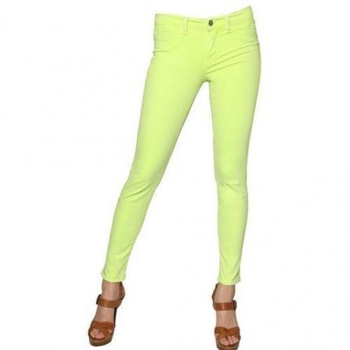 J Brand - Neon Skinny Japanese Twill Jeans