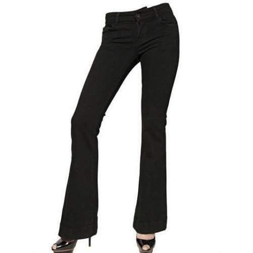 J Brand - Stretch Denim Low Rise Love Story Jeans