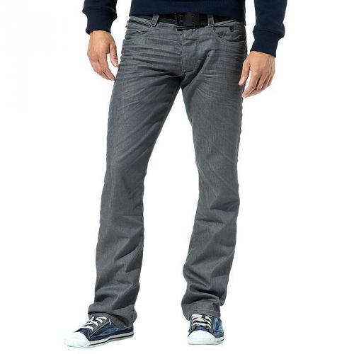 Jack & Jones Herren Jeans Rick Four Grey Clear Twill Sup