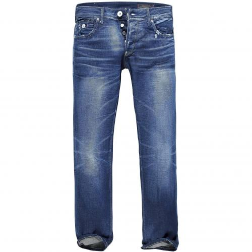 Jack & Jones Herren Jeans Tim Joe Indigo Soul