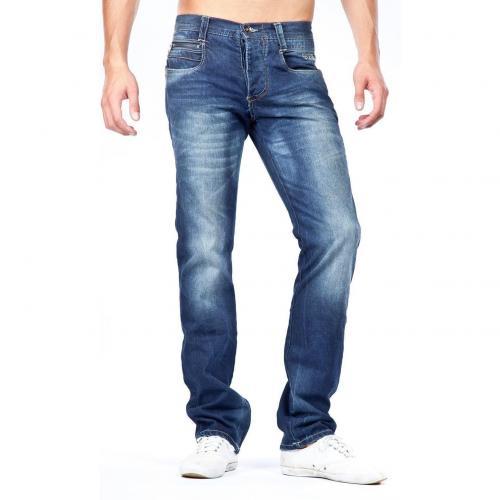 Jack & Jones Rick Four BB776 Jeans Straight Fit Dark Used