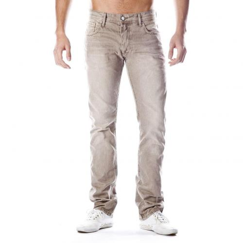 Jack & Jones Tim Jeans Straight Fit Beige