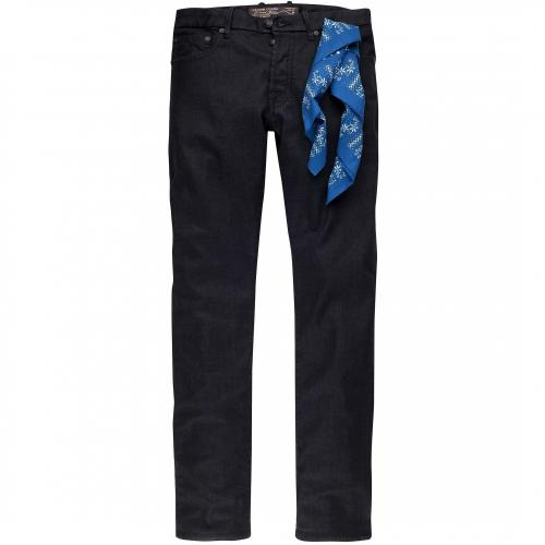 Jacob Cohën Herren Jeans Dark Blue