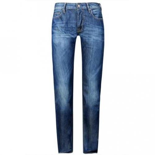 Japan Rags - Hüftjeans 611 Basic Bleu 1062 Blaue Waschung
