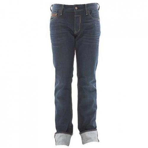Japan Rags - Hüftjeans 611 Smith Dunkelblau