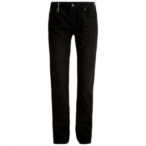 Japan Rags - Hüftjeans 680 Basic RR 6010 Blow Spike Schwarz