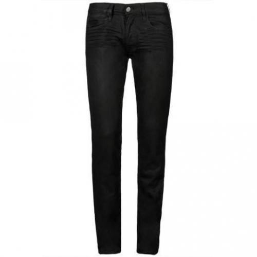 Japan Rags - Slim 702 Basic Black 411 Schwarz