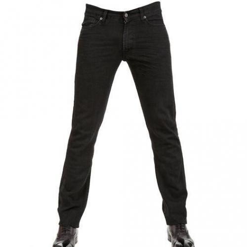Karl - 16,5Cm Denim Jeans Mit Washed Einsätzen