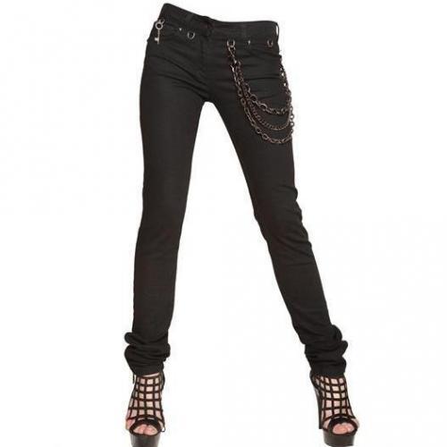Karl Lagerfeld Paris - Ketten Denim Stretch Skinny Jeans