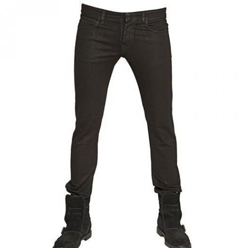 Karl Lagerfeld Paris - Zip Stretch Denim Skinny Jeans