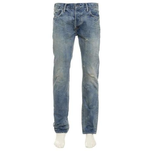Kuro Jeans Graphite Classic blue Washed Look