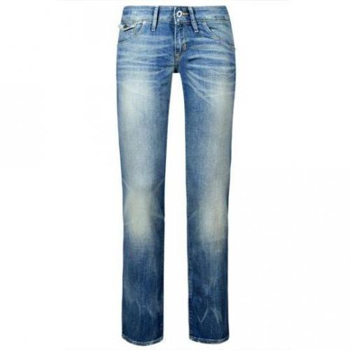 Kuyichi - Hüftjeans Modell Lisa Beach Drag Farbe Blaue Waschung