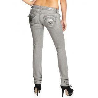 Laguna Beach Jean Co. Damen Jeans Huntington Beach Grau