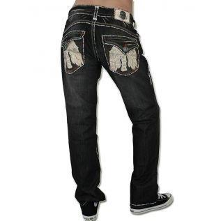 Laguna Beach Jean Co. Herren Jeans Long Beach Schwarz