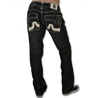 Laguna Beach Jean Co. Herren Jeans Sunset Beach Schwarz