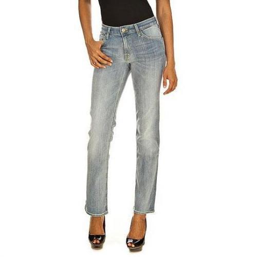 Lee - Boot Cut Modell Marion Straight Whitewater Farbe Blau