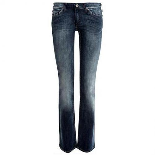 Lee - Boot Cut Modell New Leola Dark Contrast Farbe Blaue Waschung