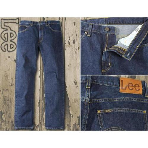 Lee Brooklyn Straight dark stonewash L452/AT46