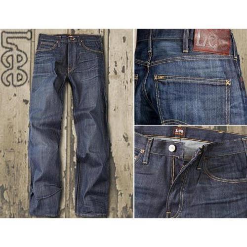 Lee Kent 5 Pocket Fit dark sheen L720/CRSD