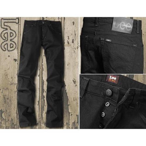 Lee Powell 5 Pocket Fit clean black L704/HFAE