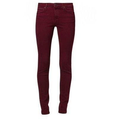 Lee SCARLETT Jeans bordeaux