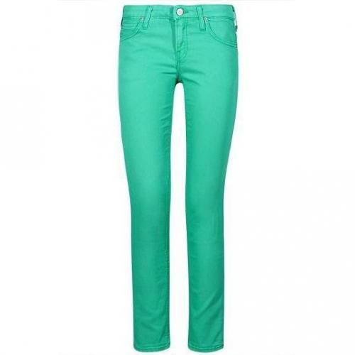 Lee - Skinny Modell Scarlett Green Grass Farbe Grün