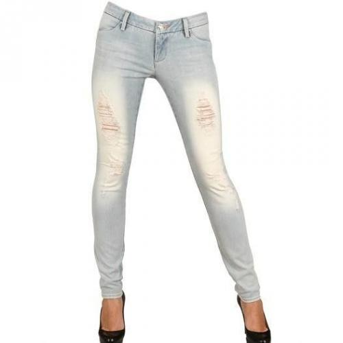 Lerock - Push Up Distressed Denim Stretch Jeans