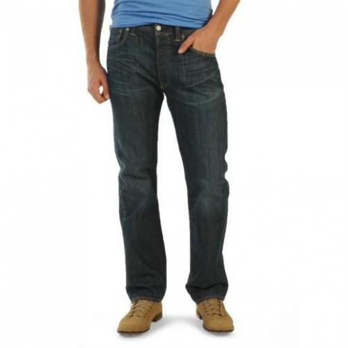 Levi's 501 Button Fly hard groun