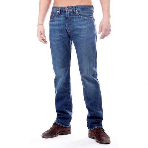 levi 39 s 505 jeans straight fit dark used mydesignerjeans. Black Bedroom Furniture Sets. Home Design Ideas