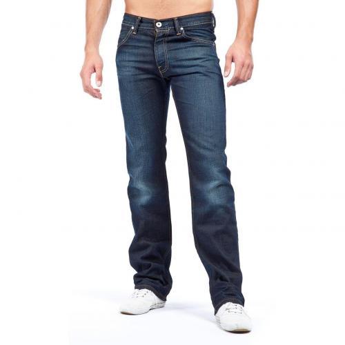 levi 39 s 506 standard jeans straight fit dark used mydesignerjeans. Black Bedroom Furniture Sets. Home Design Ideas