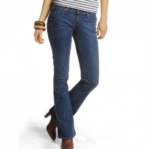 Levi's Bold Curve Skinny Boot blau Jeans mit angesagtem Bootcut