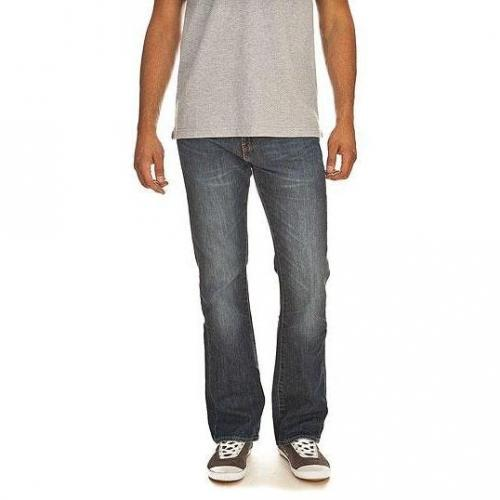 Levi's - Boot Cut 527 Mostly Mid Blau