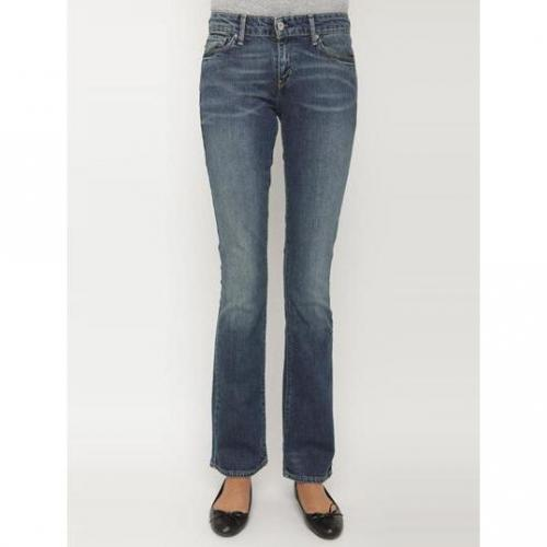 Levi's - Boot Cut Modell Demi Curve Bootcut Skinny Whitening Blue Farbe Blaue Waschung