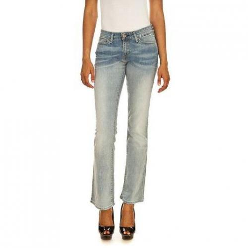 Levi's - Boot Cut Modell Modern Demi Curve Bootcut Time Worn Farbe Helle Waschung