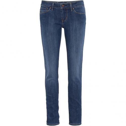 Levi's® Damen Jeans Demi Curve Skinny 17 Mid Blue